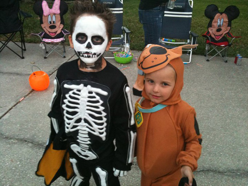 Makeup Ideas » Kids Skeleton Makeup - Beautiful Makeup Ideas and ...